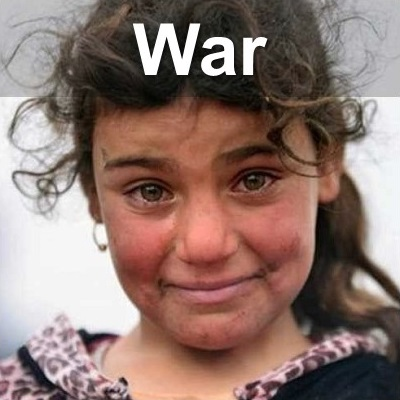 child victim of war